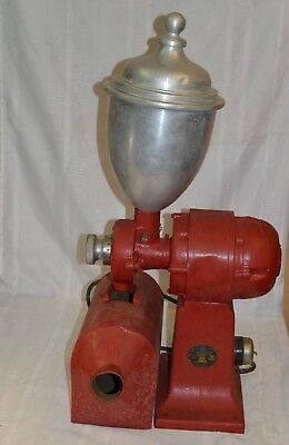 Antique Valley Mill Mercantile Store Giant Electric Coffee Grinder Mill