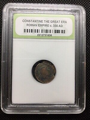 Constantine the Great Era Ancient Roman Coin Nice Quality c. 330 AD ROMCTG06