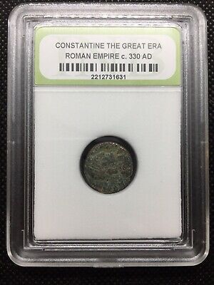 Constantine the Great Era Ancient Roman Coin Nice Quality c. 330 AD ROMCTG07