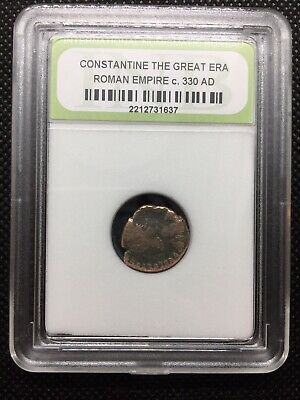 Ancient Roman Coin - Constantine the Great Era c. 330 AD - Nice Quality ROMCTG08