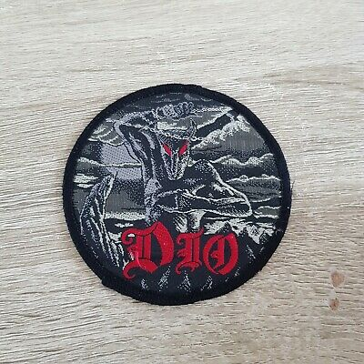 1980s DIO Holy Diver Patch Aufnaher Metal Black Sabbath Motorhead