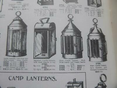 Candle Lighting Lanterns Snuffers Excellent Collectors Ilustrated Reference Book