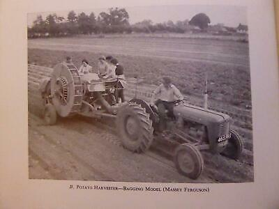 1960S Farming In Britain Tractors Machinery Fordson Bamford 100% Old & Orig Book