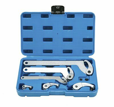 Adjustable Hook & Pin Spanner Wrench Tool Set Locking Nut Wrench 35mm-120mm New
