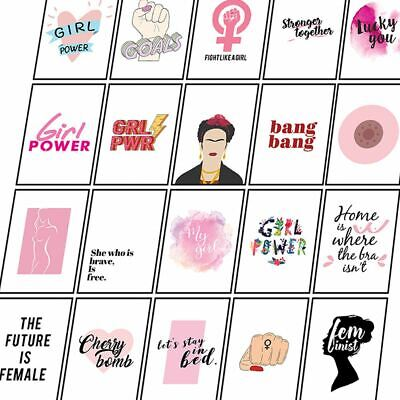 Feminist Posters Female Empowered Prints Inspirational Woman Wall Art Quotes