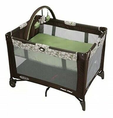 Graco Pack N Play Playard On The Go Zuba Travel Folding Baby  bassinet Baby Bed