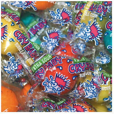 Dubble Bubble Cry Baby Sour Gumballs (850 ct.)