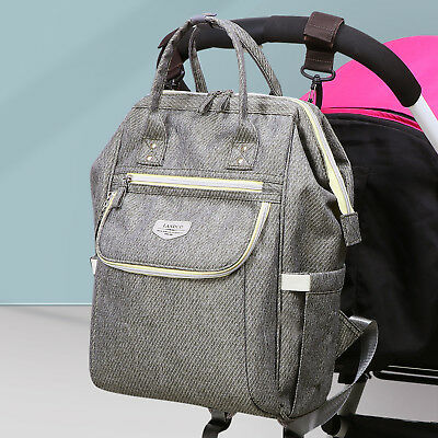 LAND Mommy Backpack Diaper Bags Multifunctional Baby Nappy Bag Waterproof Large