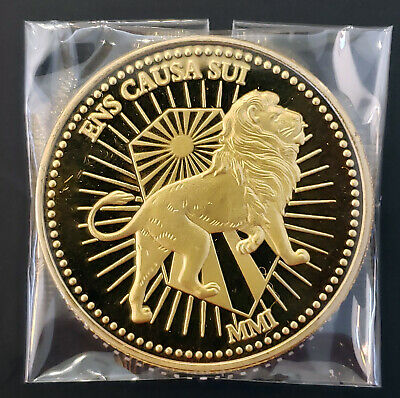 John Wick Continental Hotel Gold Coin Replica Movie Accurate Detail Prop Sealed!