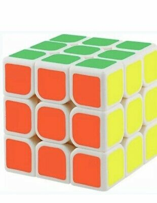 Kids Fun Toy Rubic Cube Rubix Gift Mind Game Classic Puzzle 3x3
