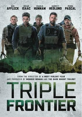 Triple Frontier (DVD,2019) A NetFlix Movie ReOrdered/ Ship Out July 1
