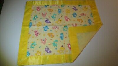 Care Bears Lovey-Yellow B/G-Gr8 For Children-Satin Binding