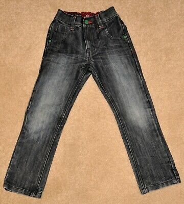 Next boys black denim jeans, great condition, size 6
