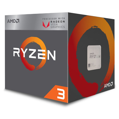 AMD YD2200C5FBBOX RYZEN 3 2200G 3.7 GHz - AM4 3.5/3.7GHz - 2MB L2 Cache