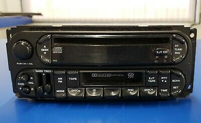 DODGE JEEP CHRYSLER 02-06 AM FM CD Cette w Bluetooth ... on
