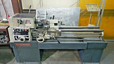 CLAUSING 1300 SERIES, Lathe Operating Instructions and Parts List