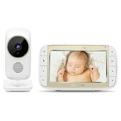 """NEW!! MOTOROLA 5"""" VIDEO BABY MONITOR WiFi Viewing MBP844CONNECT  Free Shipping!"""