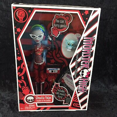 MONSTER HIGH 1ST Wave 2010 GHOULIA YELPS Doll Daughter fo Zombies with Pet Owl
