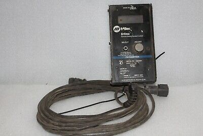 Miller Optima 304 Remote Pulsing Pendant Control - Used