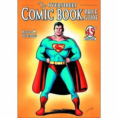 Overstreet Comic Bk Pg Sc Vol 45 Joe Shuster Superman Cvr - Brand New