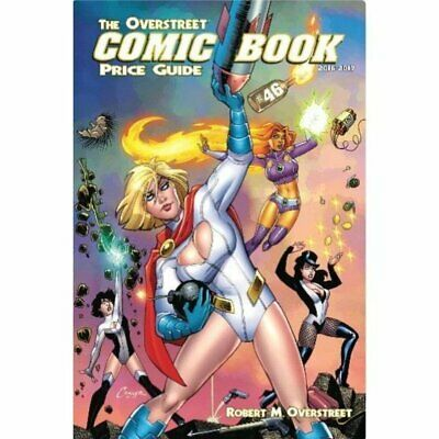 Overstreet Comic Bk Pg Hardcover Vol 46 Power Girl - Brand New