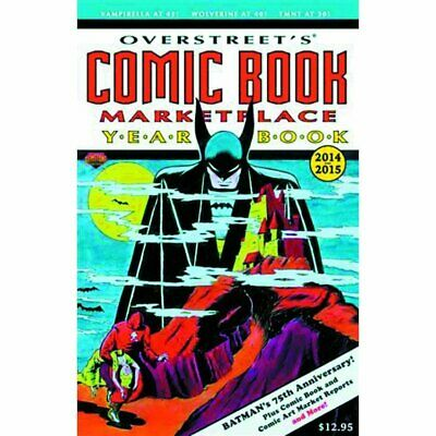 Overstreet Comic Bk Marketplace Yearbook 2014 Batman Cvr - Brand New