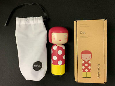 Lucie Kaas Kokeshi Doll Marcel Marceau F//S from JAPAN w//Tracking NEW