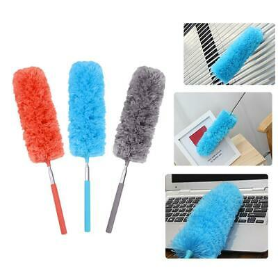 Adjustable Stretch Extend Microfiber Feather Duster Dusting Cleaning Brush Tools