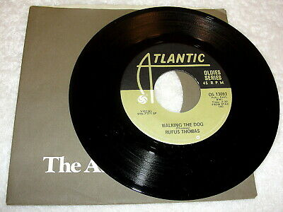 "Rufus Thomas ""Walking The Dog / The Dog"" 45 RPM,7"", Funk, Nice NM!, 80's Reissue"