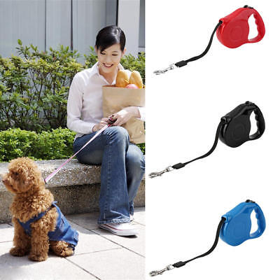 Retractable Leash Dog Pet Training Leashes Lead Puppy Rope Walking Collars