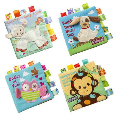 Baby Cloth Book Kids Early Soft Cognize Toy Educational Intelligence Development
