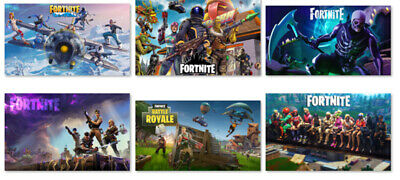 Fortnite Game Wall Poster Photograph Photo Art Prints 12x21 17x29 24x42inch