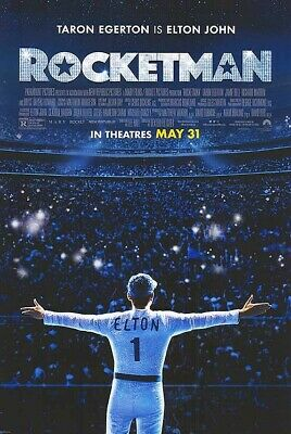 Rocketman FINAL Double Sided Original Movie Poster 27x40