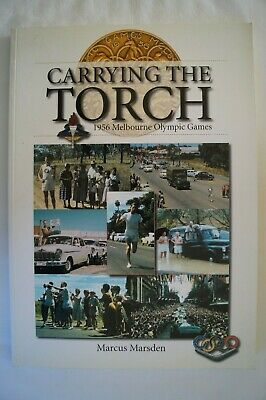 Olympic Games Collectable 1956 Melbourne Carrying The Torch by Marcus Marsden