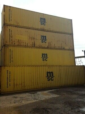 Shipping Containers 40 Ft Hc Used Felixstowe  Type - 07505 362303