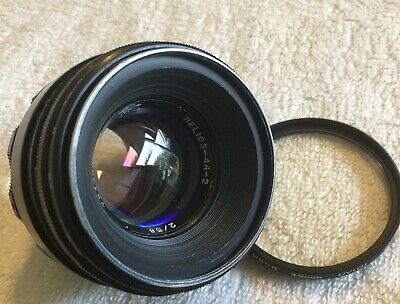 HELIOS-44-2 58mm f/2 PRIME LENS with M42 MOUNT in VERY GOOD CONDITION