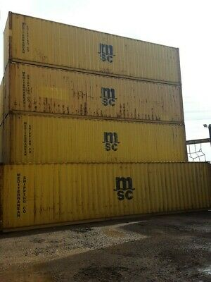 Shipping Containers 40 Ft Hc Used Liverpool 0151-329-0228