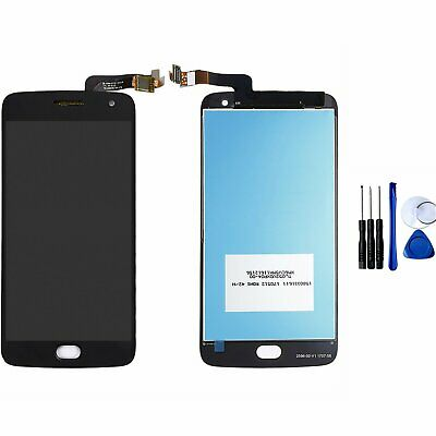 Black Touch Screen LCD Display For Motorola MOTO G5 Plus XT1680 XT1687 XT1686