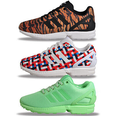 Adidas Originals Zx Flux Womens Girls Classic Trainers From £19.99 FREE P&P