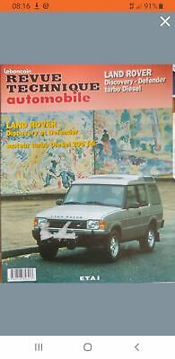 RTA Revue technique automobile LAND ROVER DEFENDER ET DISCOVERY 200 TDI