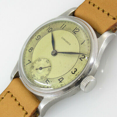 LONGINES Small Second 2116170 Manual Winiding Vintage Watch 1940's Overhauled