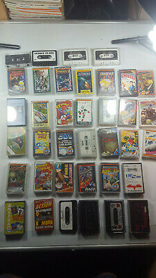 37x Amstrad CPC Games STRIDER CHILLER CHASE HQ XYBOTS Cassettes Datasette  LOT