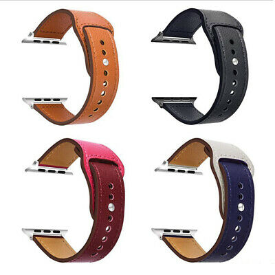 Luxury Leather iWatch Strap for Apple Watch Band Series 4 3 2 1 38/42mm 40/44mm