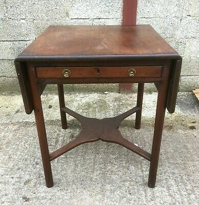 Unusual Georgian Mahogany Pembroke Table