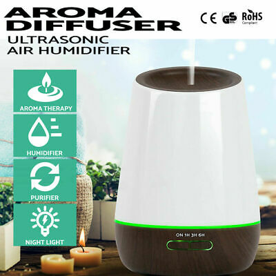 Aromatherapy Essential Oil Purifier Air Humidifier Mist Diffuser Aroma 500ml