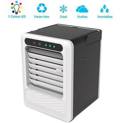 Portable Mini Air Conditioner Cool Cooling Artic Air Cooler Fan Humidifier