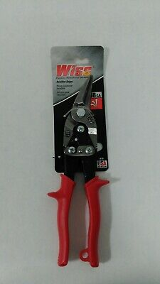 Cuts Straight Yellow Left and Right Wiss M3R 248mm// 9-3//4-Inch MetalMaster Compound Action Aviation Snips