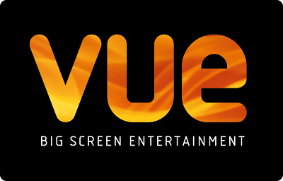 1 x VUE Cinema ticket Adult Kids All UK - NO BOOKING FEE and INSTANT DELIVERY