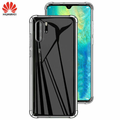 CLEAR CASE For Huawei P30 pro Shockproof Silicone Gel Protector Slim Cover