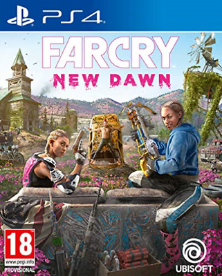 Ps4-Far Cry New Dawn (Ps4) (UK IMPORT) GAME NEW